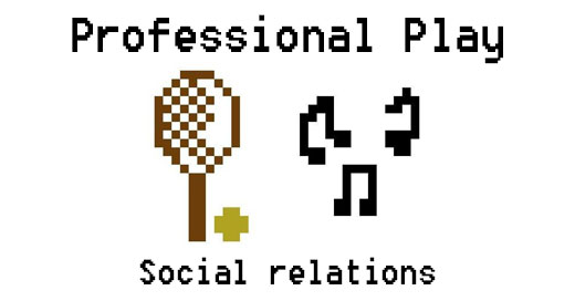 Professional play: The social aspect of play