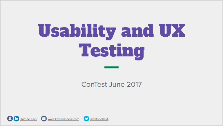 contest 2017 usability ux
