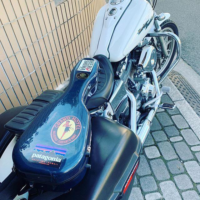 いい天気♪バイク日和ではないか。#唄うたいカワムラ