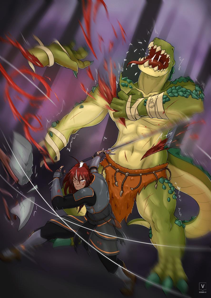 Fighting against Crocman