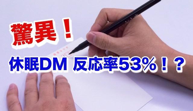 美容室休眠DM驚異の53%の反応率と全く反応がない人の違いとは? Kawada Takeshi