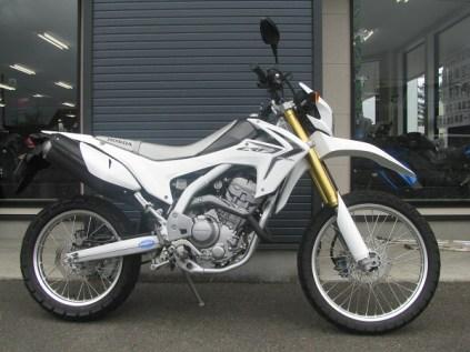 ホンダ CRF250L ホワイト ライトサイド