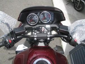 カワサキ ZRX1200DAEG レッド メーター