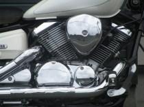 中古 ヤマハ ドラッグスター250 ホワイト エンジン
