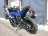カワサキ Z250SL ブルー 後ろ側