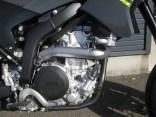 ヤマハ WR250X ブラック/グレイ エンジン