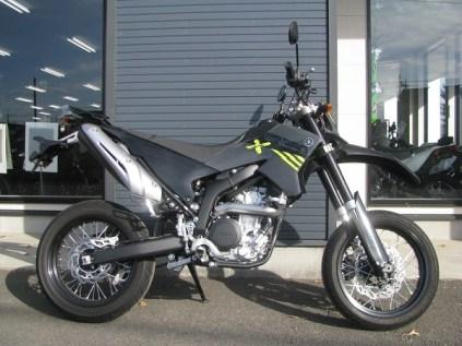 ヤマハ WR250X ブラック/グレイ 右側