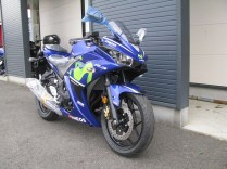 新車 ヤマハ YZF-R3ABS Movistar Yamaha MotoGP Edition ブルー 前側