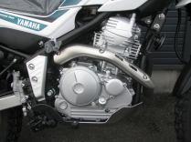 新車 ヤマハ ツーリングセロー グリーン エンジン