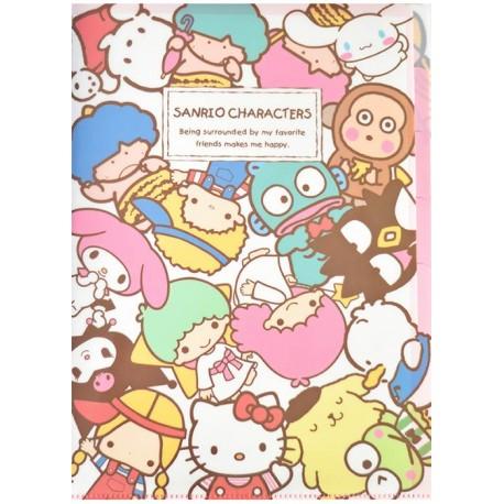 Sanrio Characters Index File Folder Kawaii Panda