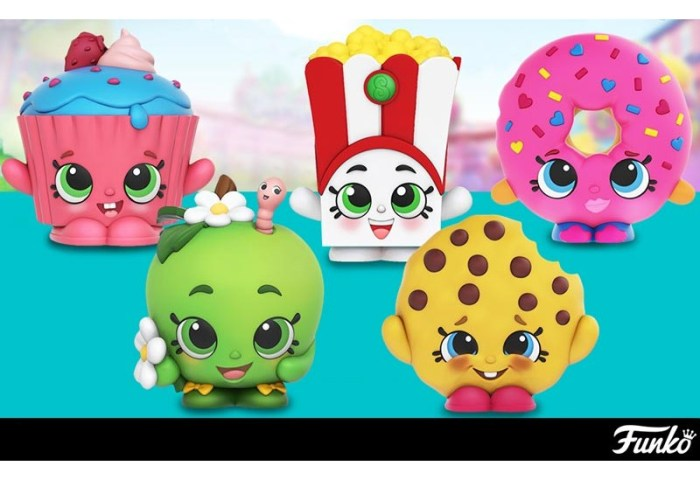 Shopkins Cupcake Chic Chase Figure Kawaii Panda Making Life Cuter