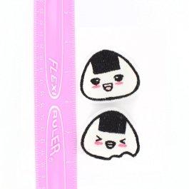 Kawaii Onigiri Hair Clips Set of 2