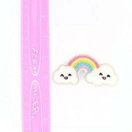 Rainbow Hair Clips for Girls
