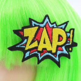 Comic Book Clothing – ZAP! Hair Clip
