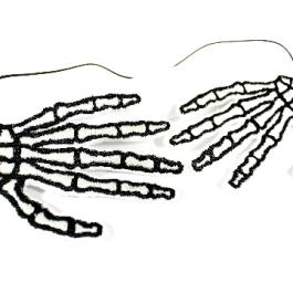 Skeleton Hand Headband for Women