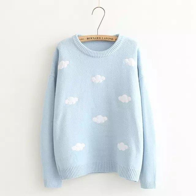 Sweater Sweet Cloud Blue