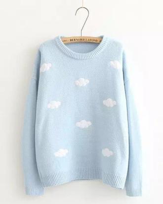 Sweater Sweet Cloud Blue