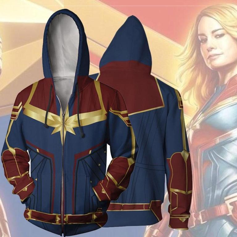 Sudadera de Capitana Marvel 1