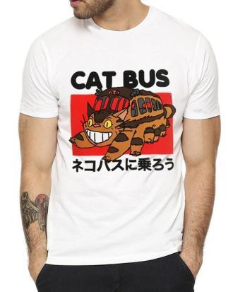 Totoro Gatobus unisex T-shirt