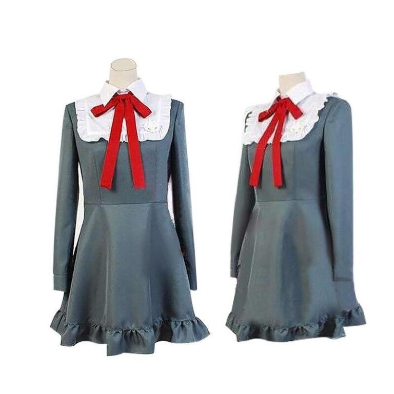 Vestido de cosplay Monaca Towa del juego Danganropa