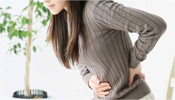 月経前症候群の腹痛イメージ画像