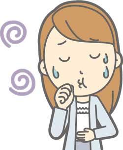 ストレス吐き気イメージ画像