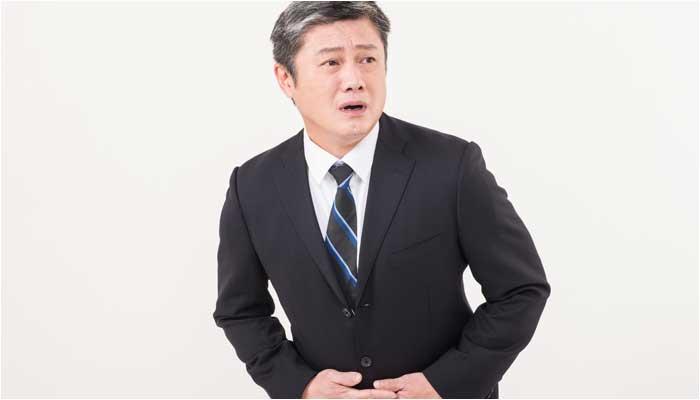 前立腺肥大で尿漏れが心配な男性のイメージ画像