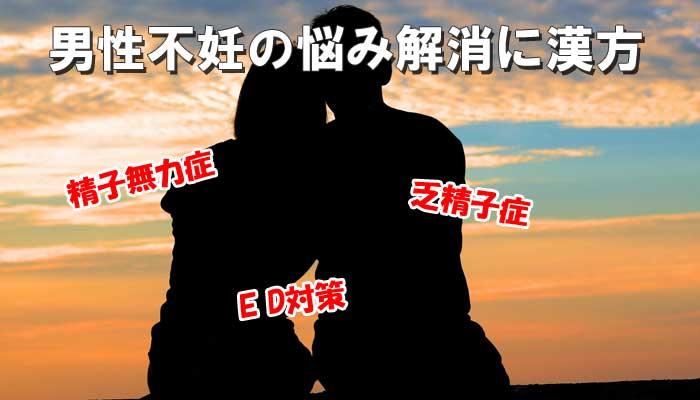 男性不妊の漢方のイメージ画像