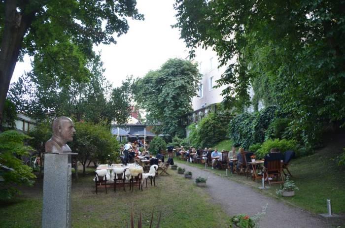 Restaurante na Estônia