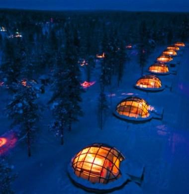 28. Hotel Kakslauttanen, Finland (1)