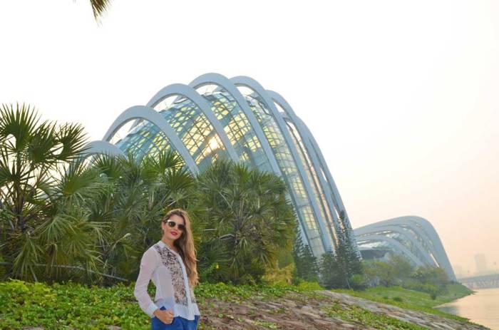 Cloud Forest e Flower Dome em Singapura