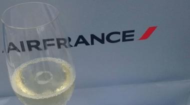 Como é voar na Classe executiva da Air France