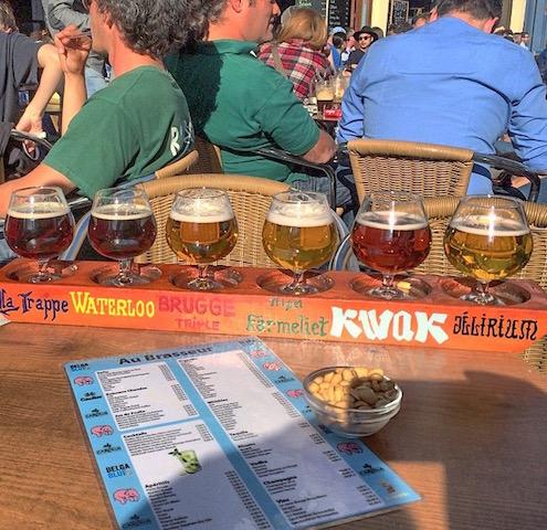 Cervejaria na Bélgica