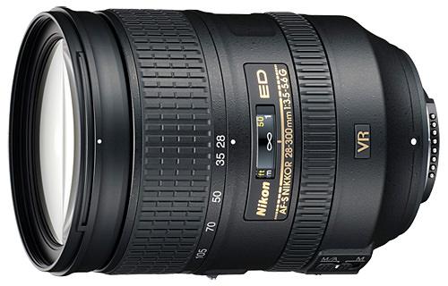 lente super-zoom 28-300mm da Nikon