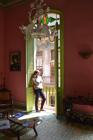 Casa Vitrales em Havana, Cuba