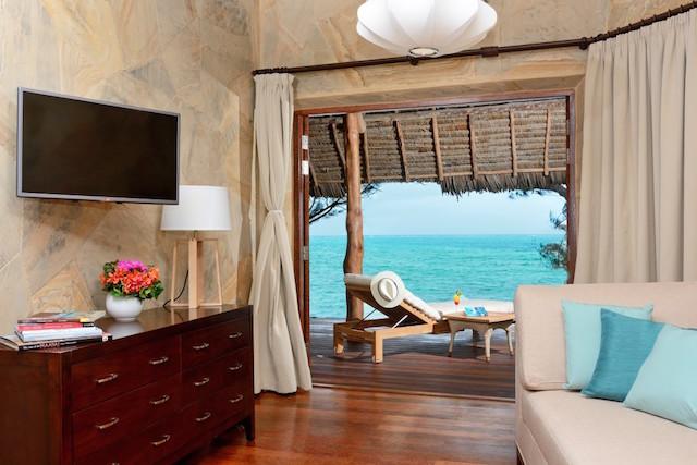 Hotel de luxo em Zanzibar