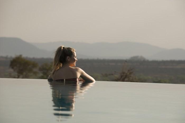 Pôr do sol na Tanzânia