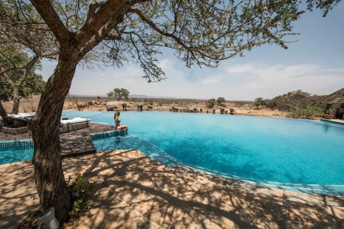 Lodge de luxo Serengeti