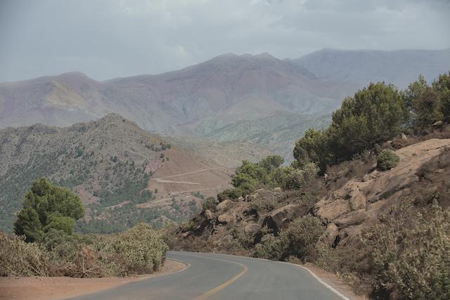 Como ir para as Montanhas atlas no Marrocos
