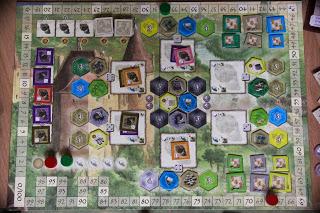 Plansza główna na początku trzeciej fazy gry