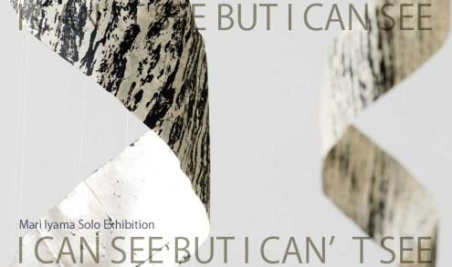 iyamari 個展 I CAN SEE, BUT I CAN'T SEE