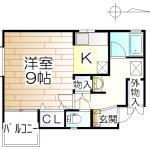 ラ・ビジュー 01号室間取り図