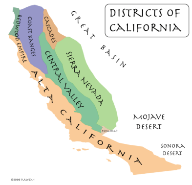 California Districts