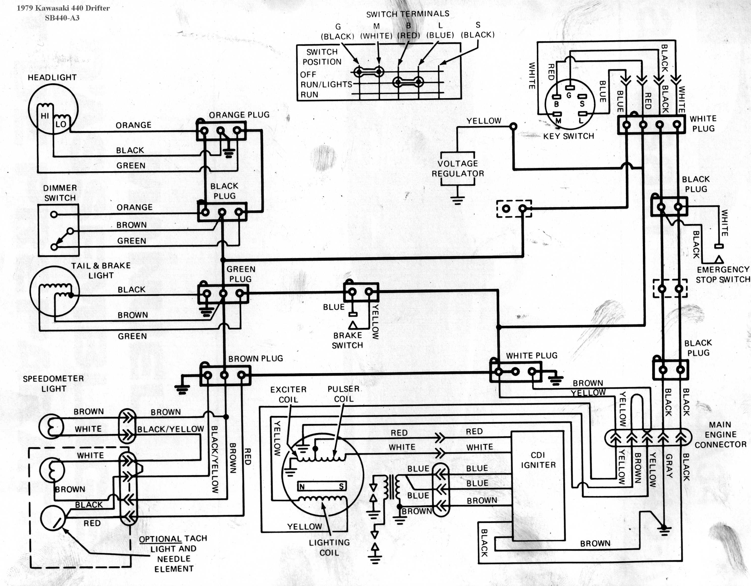 vulcan 800 ignition diagram · kawasaki drifter wiring diagrams