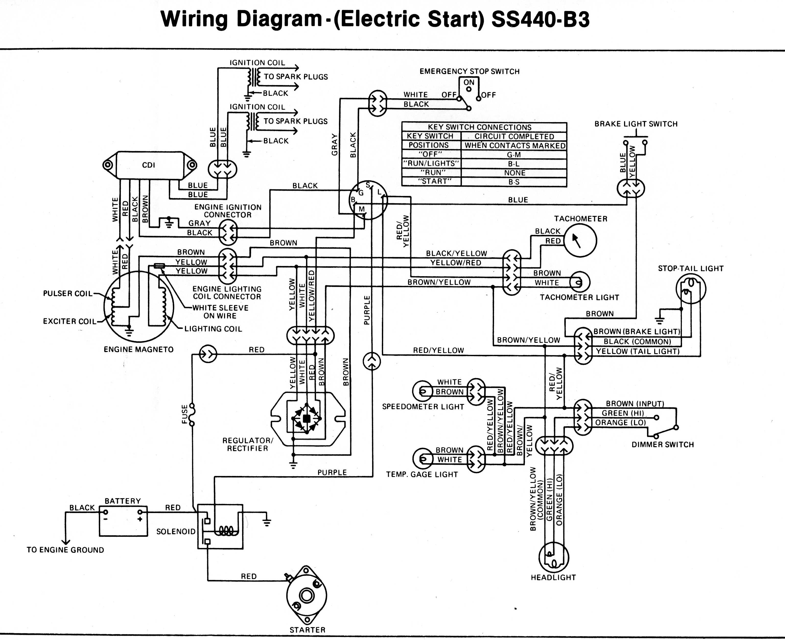 E Bike Wire Diagram