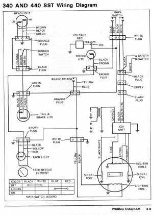 Kawasaki sno jet SST wiring diagram?
