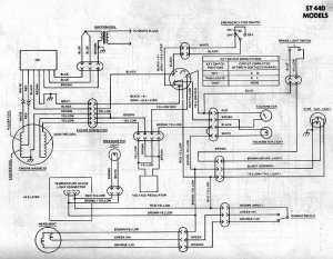 Generic Kawasaki Snowmobile Wiring Diagrams