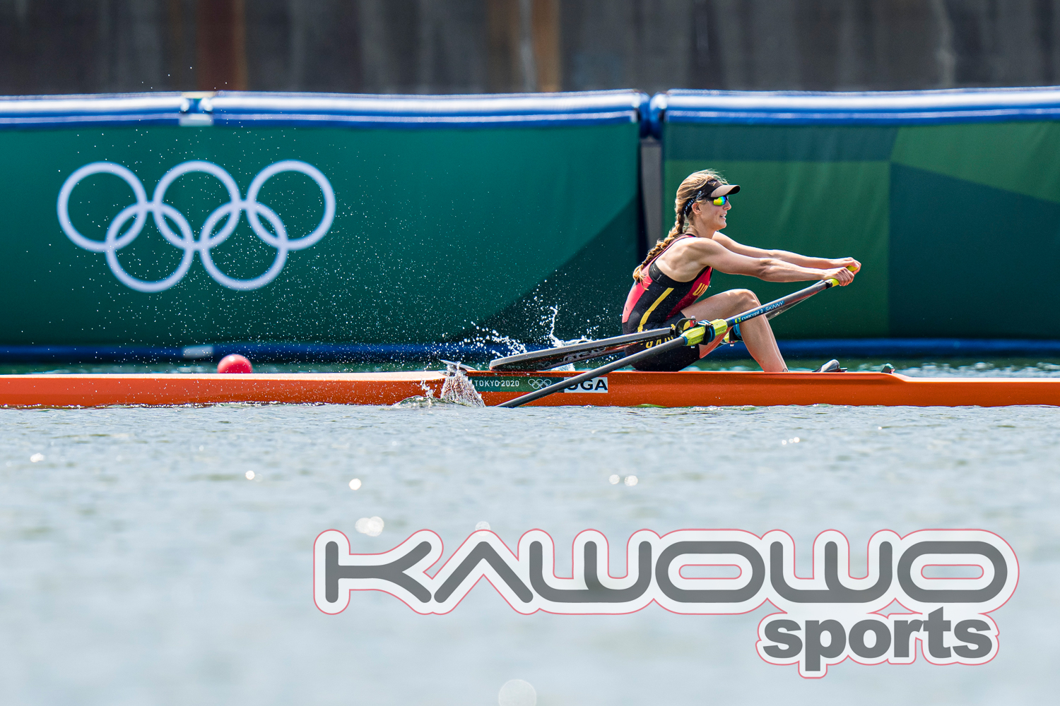 Uganda's rower Kathleen Noble records personal best time at Tokyo Olympics