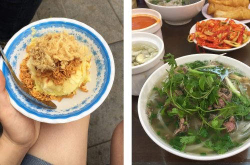 two must-eat foods in hanoi
