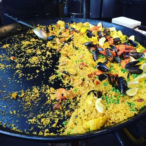Paella auf dem Borough Market